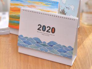 2020 Horas Calendário Claro Pequeno Turismo Calendário de decoração grandes notas de grade podem ser logotipo personalizado Mouse Ano turismo personalizadas do Calendário
