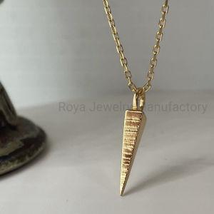 Belas jóias 9K elegante pingente de ouro colar de ouro