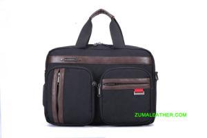 Прочный водонепроницаемый мужчин Оксфорд ткань сумка для ноутбука бизнес портфель