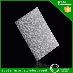 SUS304 Repujado decorativo Chapa de acero inoxidable