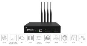 Yeastar 4 Channel GSM VoIP Gateway con 4 SIM Card per il GSM Terminal