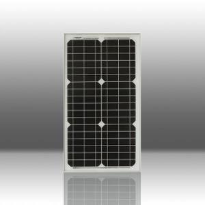 Cellules solaires monocristallines 30W / Panneaux solaires (Z002-QJM30-36)