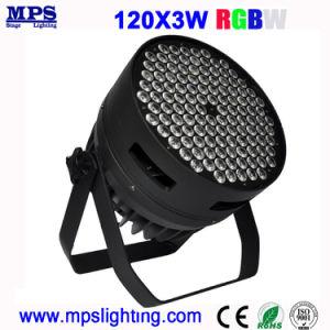 Stage LightingおよびDisco Lightingのための高いPower DJ LED PAR Wash Light 120*3W RGBW