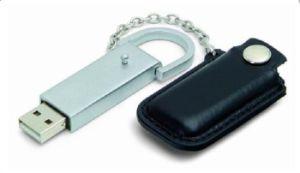 Рекламные Сувениры из натуральной кожи USB накопитель USB 2.0 1ГБ-64ГБ (OM-L807)