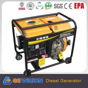 AC Single Phase/AC Three Phase Output 3.5kw Diesel Generator