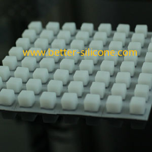 Eco-Friendly 8X8 Silicone Rubber Backlighting Conductive Keyboard