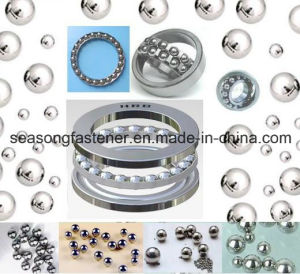 La bola de acero cromado y rodamientos de bola de acero
