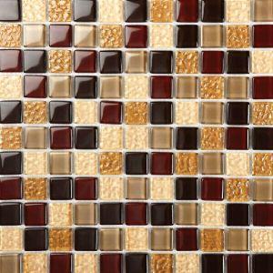 Azulejo de mosaico de cristal de los azulejos del azulejo barato de la pared