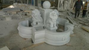 Het natuurlijke Standbeeld van de Steen van het Graniet Marmeren, Fontein & Snijdend Beeldhouwwerk voor Muur of Tuin