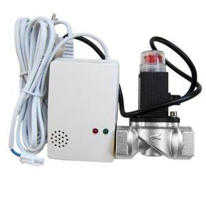 良質のガスの切断弁が付いている可燃性のガス警報の探知器