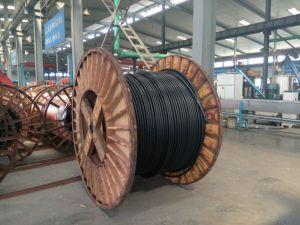 26/35kv Metro Fire-Resistant Alta Tensão do cabo de alimentação com isolamento de PVC blindados