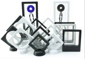 小さく大きいサイズ3Dは硬貨の宝石類のパッキングマルチ様式のためのプラスチック中断ディスプレイ・ケースを取り除く