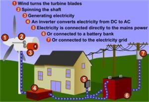세륨을%s 가진 바람 터빈 발전기 시스템 700W