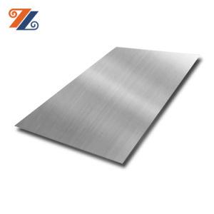 Qualidade de Primeiro Grau Alimentício 304 316 Traço escovado Surafce terminar de chapas laminadas a frio em aço inoxidável laminado para armários de cozinha