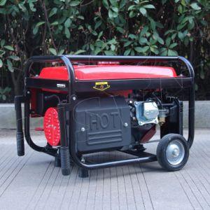 バイソン((h) 2kw 2kVA中国) BS2500hのAir-Cooledホーム使用携帯用ガソリン無声2000W Eco発電機