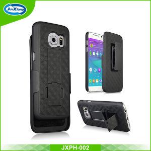 新しい到着Samsung S8 S8の端S8のためのハイブリッドTPUのパソコンのKickstandの携帯電話の箱と