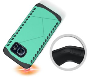 クールなデザインMotorola Moto Xの演劇のためのハイブリッド耐震性の電話カバーケース、Motorola Moto Xの演劇のための盾の装甲コンボの箱