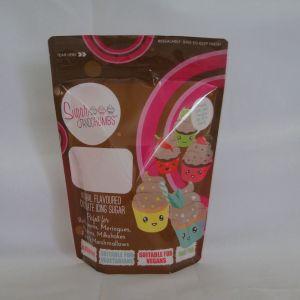 ジッパー、プラスチック食品包装の真空バッグが付いている袋を立てなさい
