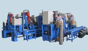Toda a linha de produção de gás automático do fabricante