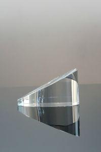 L'abitudine libera fatta pendere ha reso personale il Paperweight inciso cuore di cristallo di vetro da vendere (#1453)