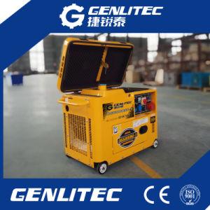 Super Silent 5 квт портативный дизельный генератор DG6800SE)