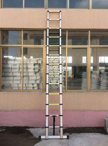 3,8 m de Nova escada telescópica com EN131-6 Certificado