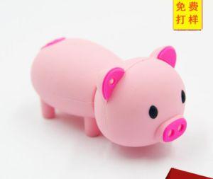 Изящный рисунок розовый поросенок USB флэш-Перо диск карты памяти Memory Stick