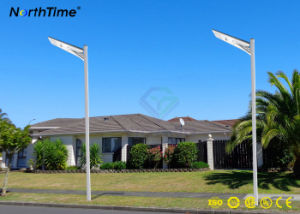 25W einteiliges LED Beleuchtung-Lampen-Sonnenkollektor-Baugruppen-Straßenlaterne