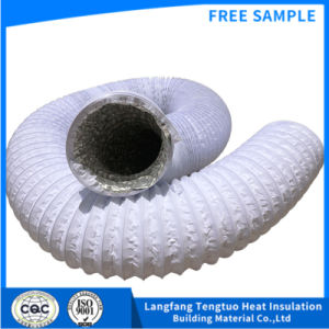 4 Zoll-Aluminiumfolie-flexibler Luft-Schlauch-Entlüfter