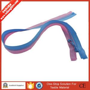 Two Color Teeth, Open End를 가진 2016년 Tailian 5# Plastic Zipper