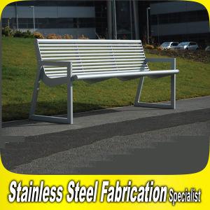 公園および庭のための屋外の金属のベンチシートをカスタム設計しなさい