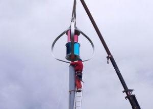 Weniger 25dB Maglev 400W vertikale Wind-Turbine für Hauptgebrauch