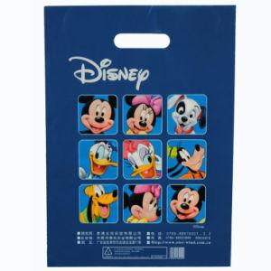 Sacs de magasinage de PEBD de marque pour l'Emballage de cadeau (FLD-8504)