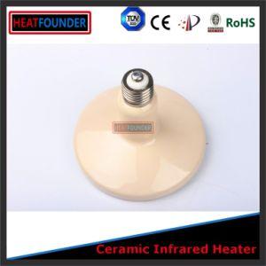 75X105mmの遠い赤外線陶磁器の球根のヒーター
