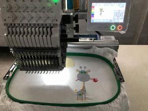 고속 단 하나 헤드 6/9/12/15 중국에게서 하는 Tajima와 형제 자수 기계로 유사한 중국에 있는 바늘에 의하여 전산화되는 자수 기계 가격
