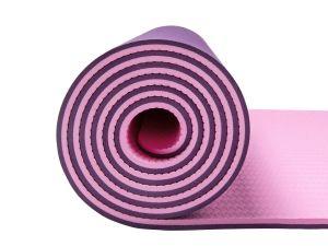 Del commercio all'ingrosso stuoia di yoga del TPE di doppio strato di Eco di slittamento non