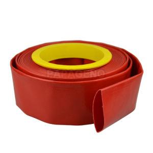 1-12 pulgadas de riego de PVC flexible disposición plana