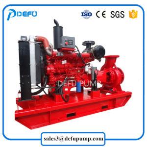 Alimentación del motor diesel de fábrica de bombas de agua centrífuga para la lucha contra incendios