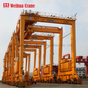 Pneu en caoutchouc Weihua Seaport Rtg grue grue à portique