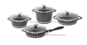 8pcs ustensiles de cuisine de moulage en aluminium Nonstick Die-Casting Set (CLA014 série)