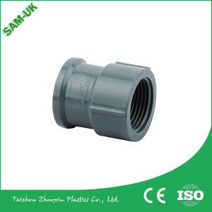 Raccords de tuyaux en PVC de couleur gris de l'égalité de l'accouplement/socket/PVC les raccords de tuyaux sanitaires