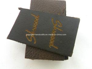 Etichetta di cuoio di timbratura calda dei jeans di alta qualità dei commerci all'ingrosso