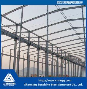 El bastidor de acero soldado Estructura de acero para construcción taller