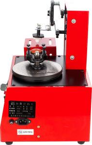 Plaque ronde numérique électrique automatique Pad l'impression de codage de la machine de traitement par lots