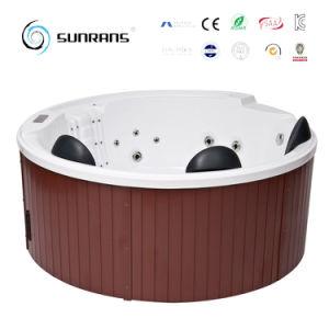 Una vasca di 2017 di nuovo disegno bagni di legno esterna dell'interno della STAZIONE TERMALE con la TV