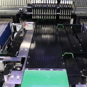 Светодиод для поверхностного монтажа в сборе с соплом машины и наклонной камеры