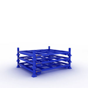 مستودع يغلفن تخزين من فولاذ يكدّس من يطوي [ركينغ]
