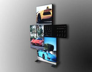 2018 Exposition Hot Lightbox tissu du châssis support d'affichage (GC-DS)