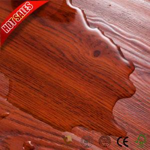 Venta de pisos laminados resistentes al fuego de madera de teca de 7mm 8mm
