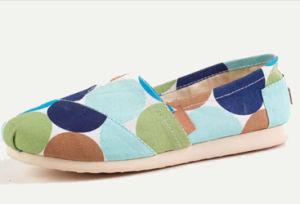 Diseño de OEM de la mujer Zapato Casual plano